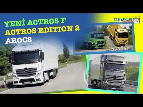 YENİ ACTROS F / ACTROS Edition 2 / AROCS