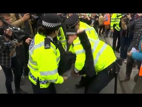 Großbritannien: Rebellion fürs Klima - mindestens  ...