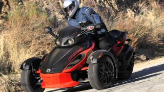 9. 2012 Can-Am Spyder Roadsters Review - Riding high on three wheels