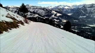Bezau Austria  city photos gallery : Bezau Austria Yeti Alpine Rodelbahn - si fliegen siiii Schlittenabfahrt 2015