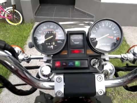 Honda Magna v30 modelo 1984 (видео)