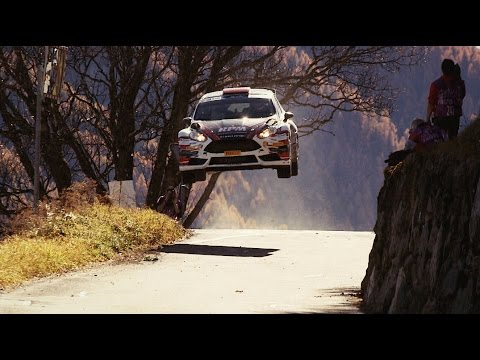 Vídeo saltos en el ERC Rallye International du Valais 2015