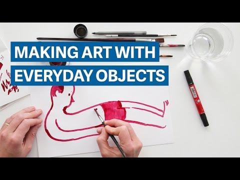 Искусство из чего угодно