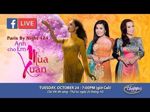 Livestream với Phi Nhung, Hạ Vy, Diễm Sương - giới thiệu show thu hình PBN 124 - Thời lượng: 1 giờ, 24 phút.
