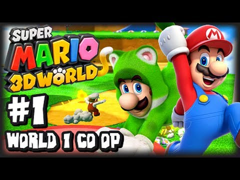 Wii - Think we can get 4000 likes on this video? That would be mindblowing! :D *GIVEAWAY CLOSED WINNERS CHOSEN* This is my 1080p HD Let's Play of Super Mario 3D Wo...