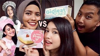 Video KONTROVERSIAL!! KUENYA AYU VS GIGIEAT CAKE | Review Jujur Kue Artis Ft. BOENGKOES NETWORK MP3, 3GP, MP4, WEBM, AVI, FLV Juni 2018