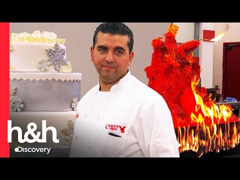 ¡Buddy es desafiado por su propio empleado! | Cake Boss | Discovery H&H