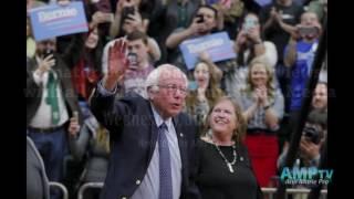 Sen. Bernie Sanders speaks with the black media of California