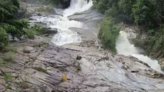 Bentong Malaysia  city photos : Video of Chamang Waterfall in Bentong, Pahang, Malaysia
