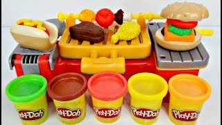 Video Play-doh Cookout Creation Grill Kitchen! D.I.Y. Kid Craft MP3, 3GP, MP4, WEBM, AVI, FLV Juni 2019