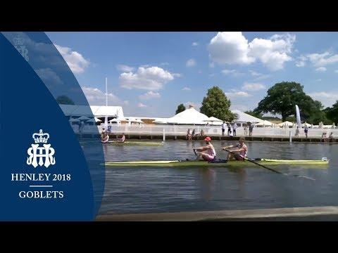 Fisher & Jackson v Glenister & Rossiter - Goblets | Henley 2018 Day 2 (видео)