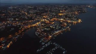 Arendal Norway  city pictures gallery : Arendal Norway by night - Liquid Memoirs Stories Part I video