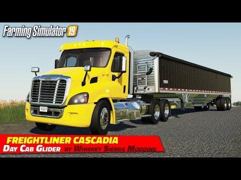 Freightliner Cascadia Day Cab Glider v1.01