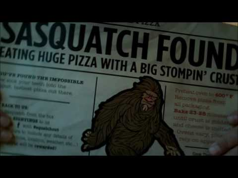 SASQUATCH PIZZA - PRODUCT REVIEW MOUNTAINOUS STYLE (видео)
