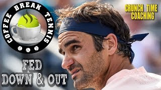 Roger is OUT... and Matt is NOT happy... CBT Quick Sip #5 will give you all the sad and sordid details of the latest Federer back ...