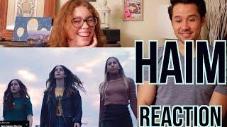 HAIM - Want You Back - REACTION!!