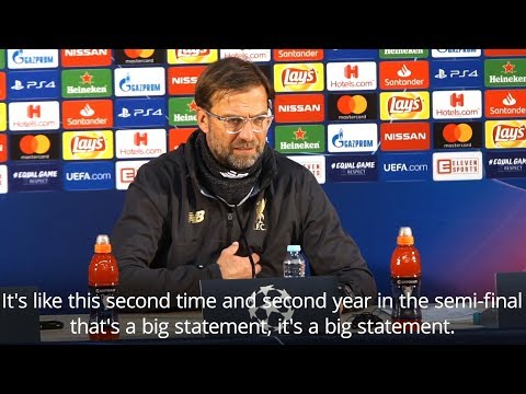 Jurgen Klopp - 'Liverpool Made A Statement By Reaching Champions League Semi-Finals'
