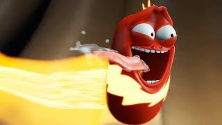 LARVA | THUNDER RED | Cartoons For Children | LARVA Full Episodes | Cartoon Super Heroes