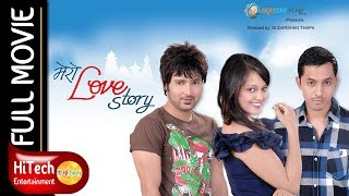 Video Mero Love Story || Nepali Movie || Aaryan Sigdel MP3, 3GP, MP4, WEBM, AVI, FLV Juni 2018
