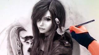 Drawing Realistic Katarina - League of Legends