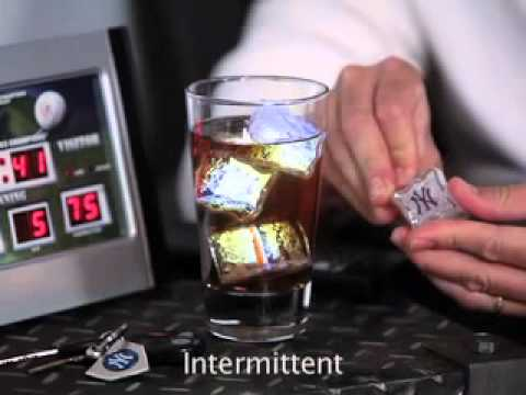 Light Up Party Ice Cubes