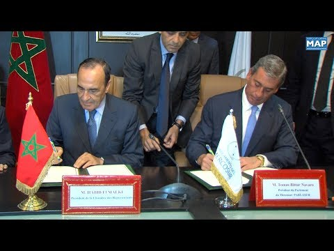التوقيع على مذكرة تفاهم بين البرلمان المغربي و بارلاسور