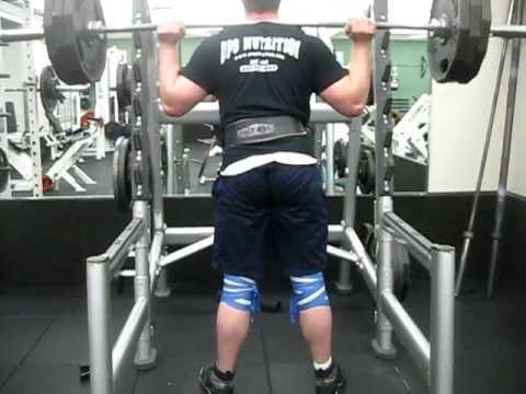 315 lb Squat for 10 reps