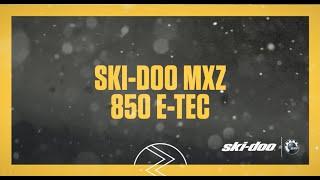 3. 2017 Ski-Doo : The  MXZ 850 E-TEC