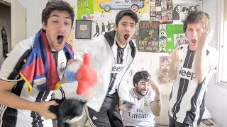 Video Real Madrid vs Juventus | Champions League FINAL | Reacciones Amigos MP3, 3GP, MP4, WEBM, AVI, FLV Juli 2017