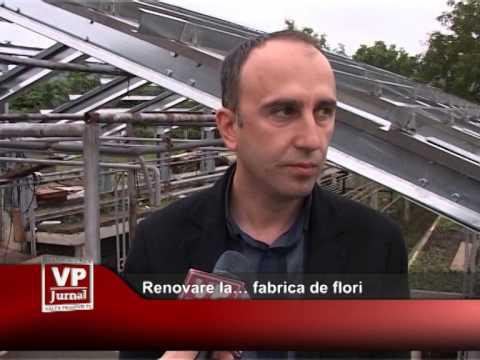 Renovare la… fabrica de flori
