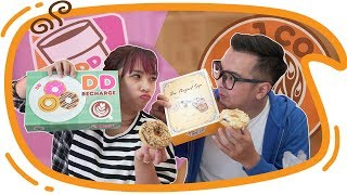 Download Video J.CO DONUTS vs DUNKIN DONUTS - Mari Kita Bandingkan !! MP3 3GP MP4