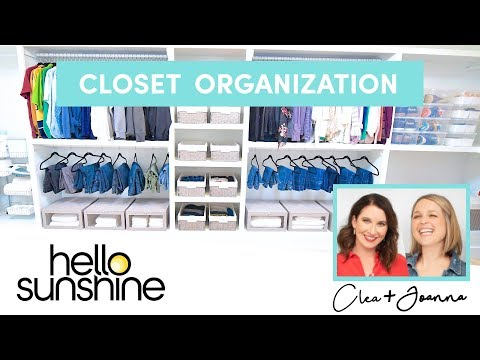 Closet Organization with The Home Edit | Master the Mess EP 10