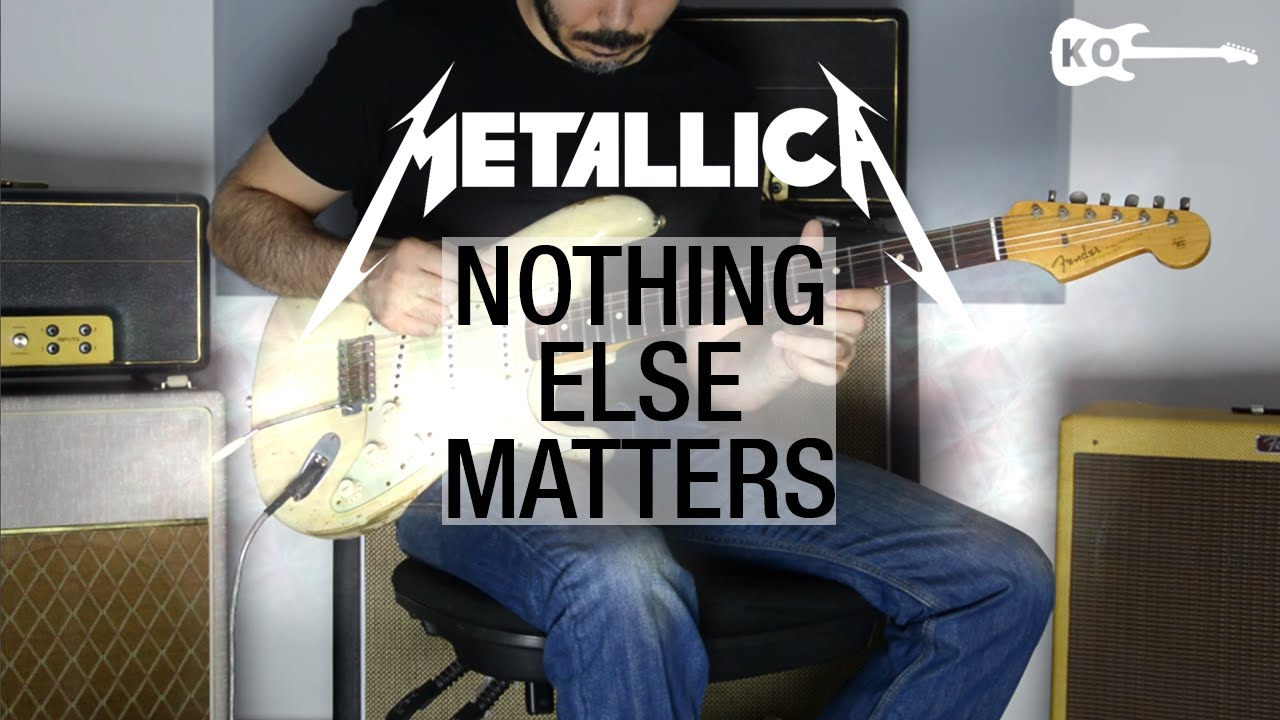 Metallica – Nothing Else Matters – Electric Guitar Cover by Kfir Ochaion