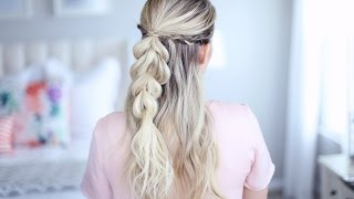 4 in 1 Pull-Thru Braid | Cute Girls Hairstyles by Cute Girls Hairstyles