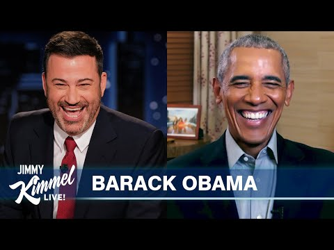 President Obama is Scared of Sasha and Roasts Donald Trump