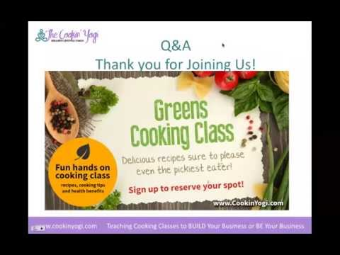 Teaching Cooking Classes To BUILD Your Business Or BE Your Business