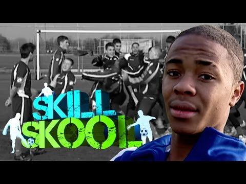 Sterling - Another chance to see a young Raheem Sterling take on Christian Nanetti in a classic edition of Skill Skool from 2010. Tune in to Soccer AM every Saturday fr...