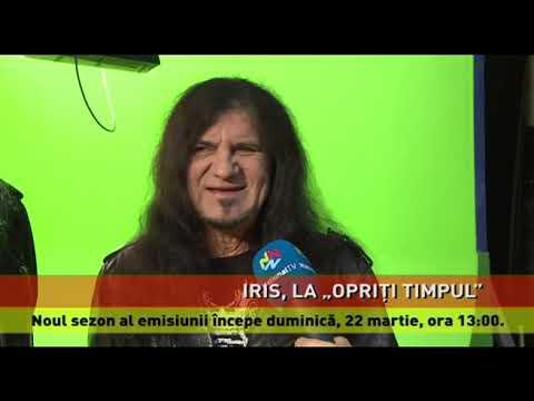 """Trupa Iris, în emisiunea """"Opriți Timpul"""", duminică, 22 martie, de la ora 13:00"""