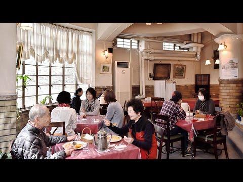 レトロモダンな店 御影公会堂の食堂