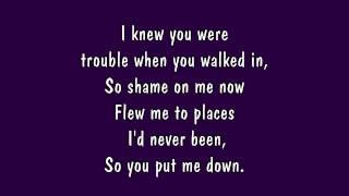 Video Taylor Swift - I Knew You Were Trouble Lyrics (HD) MP3, 3GP, MP4, WEBM, AVI, FLV Maret 2018