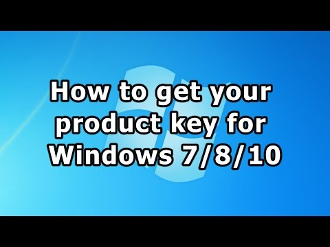 how to locate product key