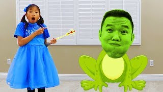 Video Wendy Pretend Play Magic Wand Transform Into Animals for Kids MP3, 3GP, MP4, WEBM, AVI, FLV Juni 2019