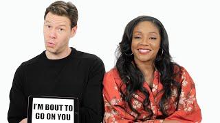 Video Tiffany Haddish Teaches You Chicago Slang with Ike Barinholtz  | Slang School | Vanity Fair MP3, 3GP, MP4, WEBM, AVI, FLV Desember 2018