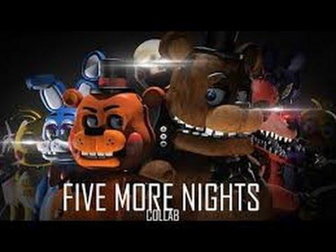 Five more nights (на русском) (видео)