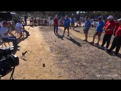 Finales de Liga Andaluza y Copa Federación de Petanca celebradas en Isla Cristina