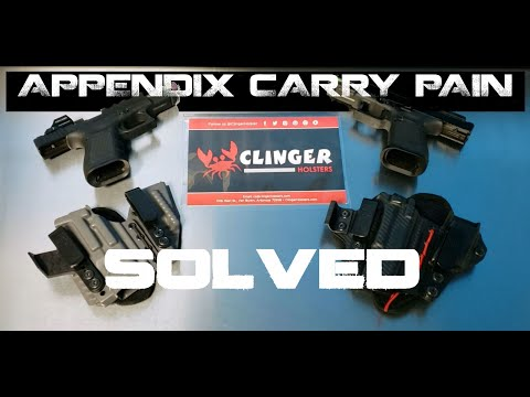 Appendix Carry Pain....SOLVED. Clinger Cushion after use review