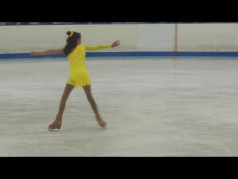 Sarah Ice Skating 2015  Routine Ice-Plex Escondido