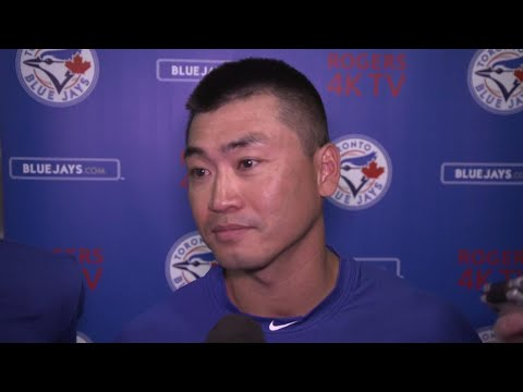 Video: Aoki says Kawasaki reached out to him after trade to Toronto