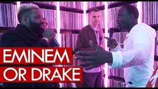 Akon & Demarco on Eminem or Drake - who's the greatest?