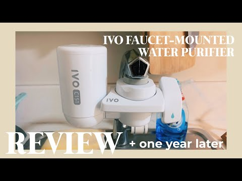 [REVIEW + 1 year later] IVO Faucet-mounted Water Purifier